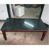 bàn gỗ mặt đá cao cấp
