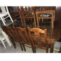 bộ bàn ăn 6 ghế gỗ xoan đào