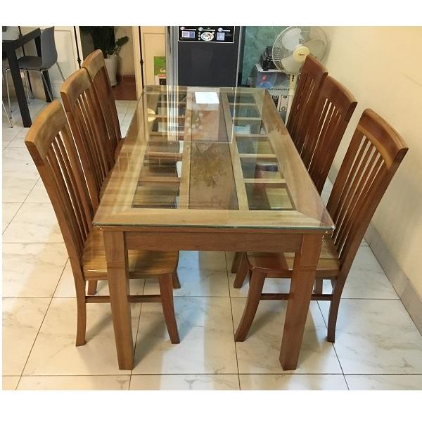 bộ bàn ăn xoan đào