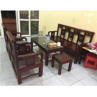 bộ bàn ghế 6 món gỗ hương