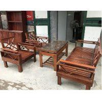 thanh lý bộ bàn ghế gỗ xoan đào