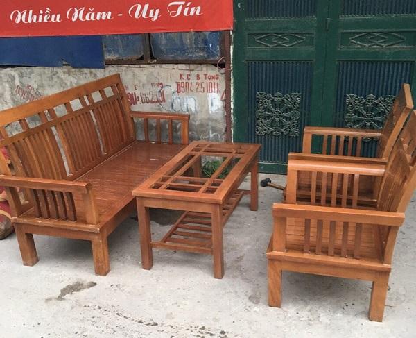bộ bàn ghế gỗ xoan đào_1