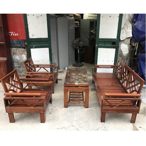 thanh lý bộ bàn ghế gỗ xoan đào_1