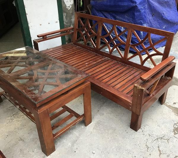 thanh lý bộ bàn ghế gỗ xoan đào_2