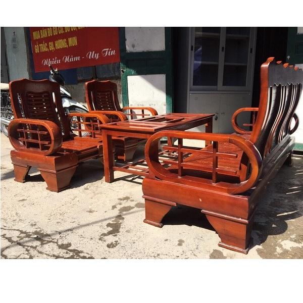 bộ bàn ghế gỗ xoan