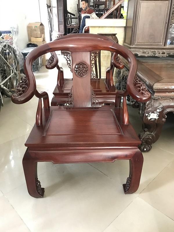 Thanh lý bộ bàn ghế minh gỗ hương ta 3