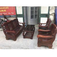 bộ bạn ghế salon gỗ tự nhiên