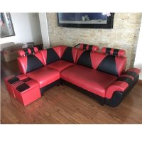 bộ sofa da góc