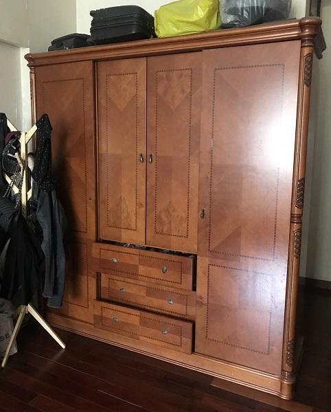 Combo phòng ngủ nhập khẩu gỗ tự nhiên 1