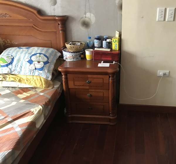 Combo phòng ngủ nhập khẩu gỗ tự nhiên 2