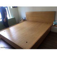 Giường gỗ sồi nga kích thước 180x200 rát phản