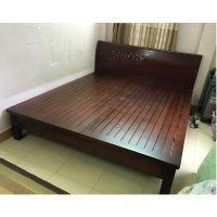giường gỗ xoan đào