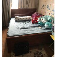 Giường gỗ xoan đào rát phản kt 160x200cm thanh lý