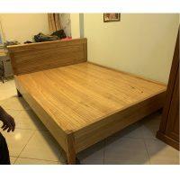 Giường gỗ xoan rát phản hàng đặt đóng