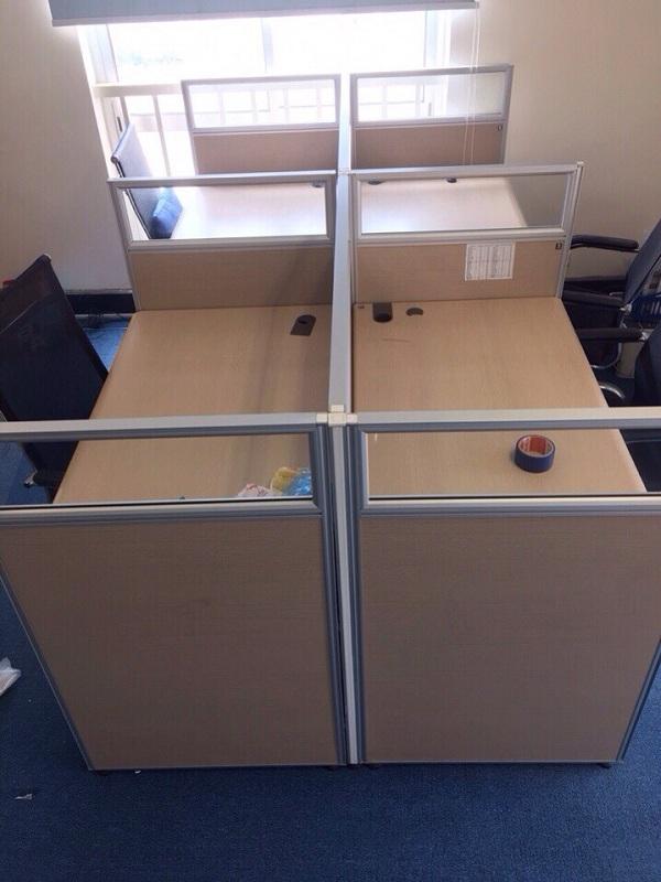 thanh lý bộ bàn module 4 fami 1