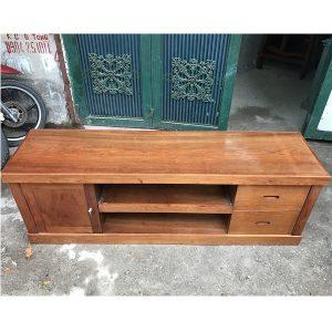 kệ tivi gỗ xoan đào kích thước 160x53x42cm