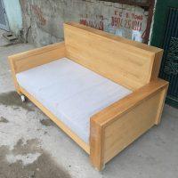 sofa gỗ sồi nga