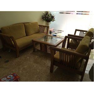 sofa gỗ xoan đào giá tốt
