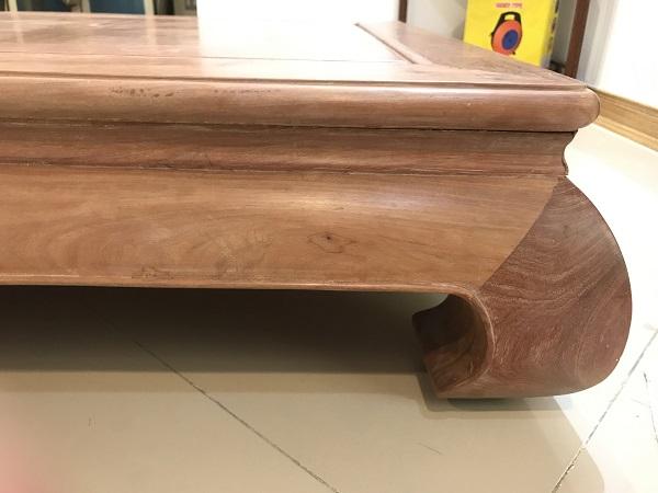thanh lý bàn nhật gỗ hương đá 1