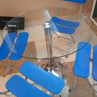 Thanh lý bàn tròn inox