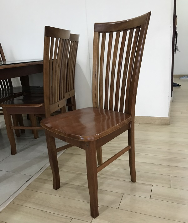 Thanh lý bộ bàn ăn gỗ xoan đào 6 ghế Hoàng Anh Gia Lai