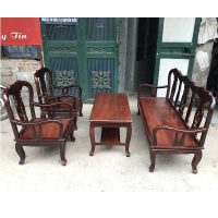 thanh lý bộ bàn ghế gỗ nghiến