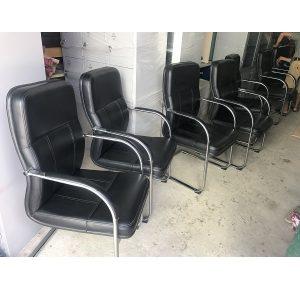 thanh lý ghế chân quỳ da nội thất 190