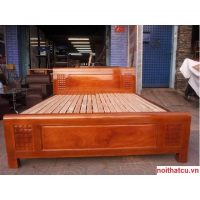 thanh lý giường ngủ gỗ tự nhiên