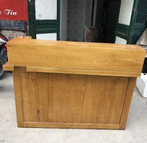 thanh lý quầy gỗ sồi nga