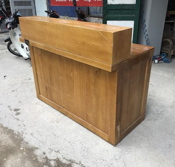 thanh lý quầy gỗ sồi nga 1