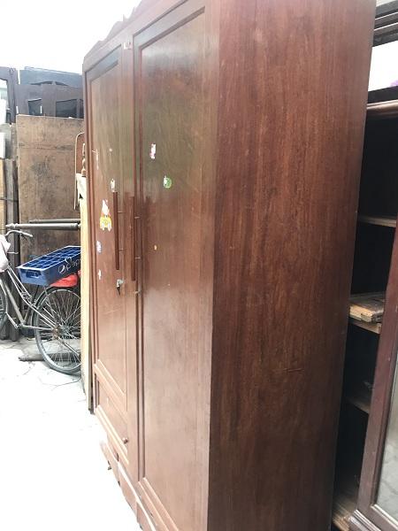 Thanh lý tủ quần áo gỗ đinh chun 1