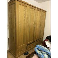 Thanh lý tủ quần áo gỗ sồi nga kích thước 240x220x62cm