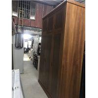 thanh lý tủ quần áo gỗ xoan đào 3 buồng