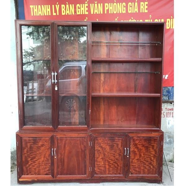 thanh lý tủ sách gỗ lim-thanh-hoa