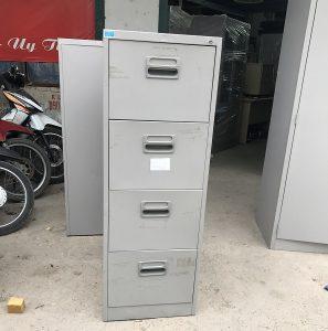 thanh lý tủ sắt 4 ngăn kéo hòa phát