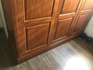 tủ 3 cánh gỗ gõ đỏ 1