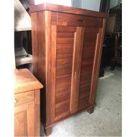 Tủ giầy gỗ xoan đào kích thước 130x75x35cm