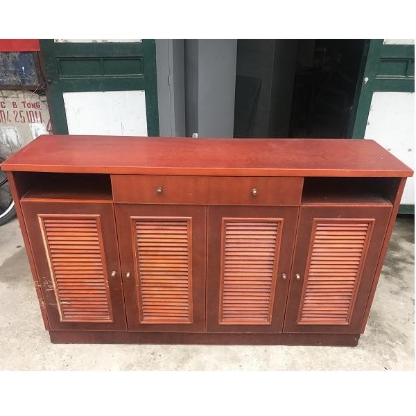 tủ giầy gỗ xoan đào kích thước 145x92x36cm