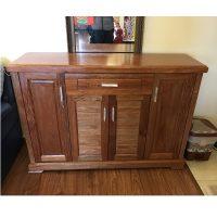 Tủ giầy gỗ xoan đào kt 125x89x35cm