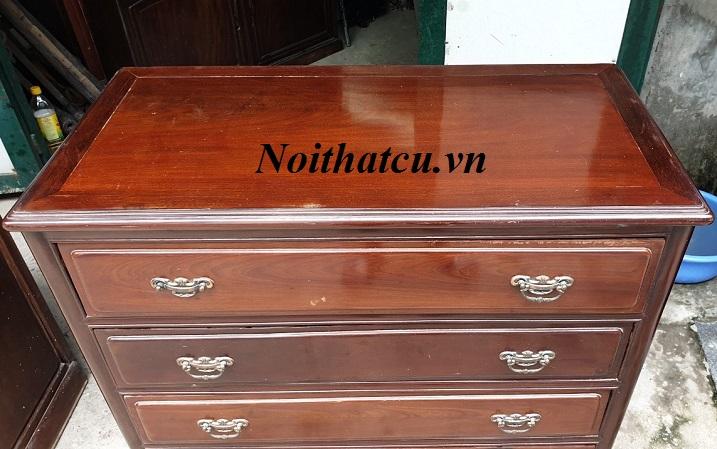 Tủ ngăn kéo gỗ gụ ta