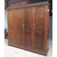 Tủ quần áo gỗ gụ kích thước 220x210x62cm