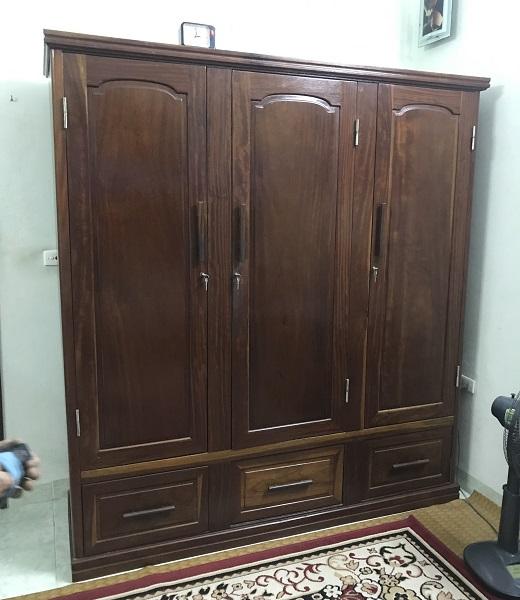 tủ quần áo gỗ lim 1
