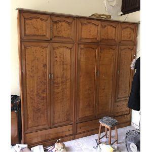 Tủ quần áo gỗ pơmu