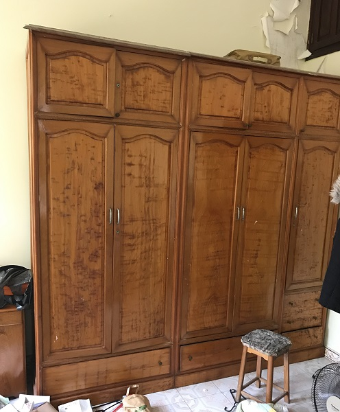 Tủ quần áo gỗ pơmu 1