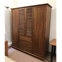 Tủ quần áo gỗ xoan đào 4 cánh Hoàng Anh Gia Lai