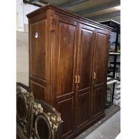 Tủ quần áo gỗ xoan đào hàng đặt đóng kích thước 160x210x60cm