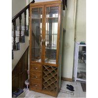 tủ rượu gỗ xoan