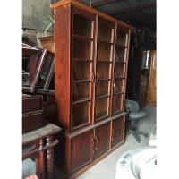 tủ sách gỗ nghiến